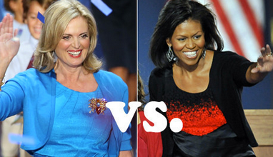 Fashion Whip: What Will Ann Romney & Michelle Obama Wear On 2012 Election Night?