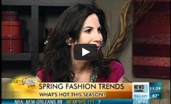 Lauren Shows Top Trends For The Spring Season